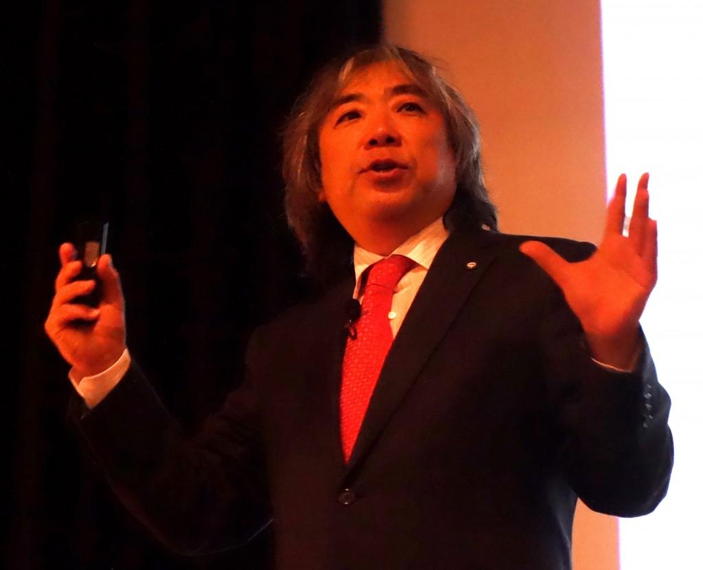 「日本は米国に比べて医療の質にバラつきがある」と問題提起する米国グローバルヘルス財団理事長のアキよしかわ