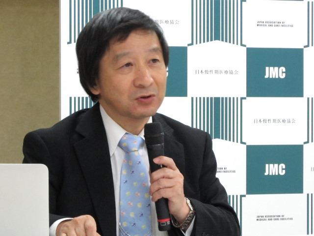 日本慢性期医療協会の池端幸彦事務局長