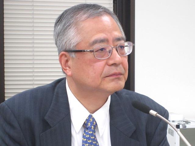 6月26日に記者会見に臨んだ、日本病院団体協議会の楠岡英雄議長