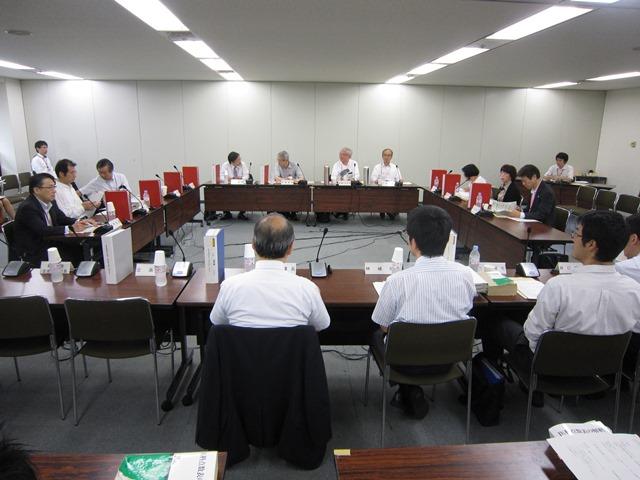 7月16日に開催された、「平成27年度 第5回 診療報酬調査専門組織 入院医療等の調査・評価分科会」