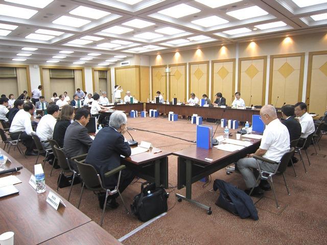 7月22日に開催された、「第27回 中央社会保険医療協議会 費用対効果評価専門部会」