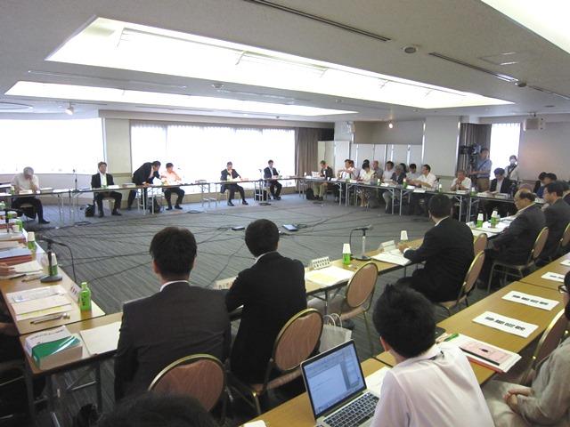 7月29日に開催された、「第10回 地域医療構想策定ガイドライン等に関する検討会」