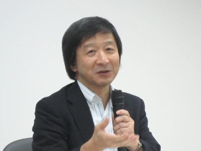 8月6日に定例記者会見に臨んだ、日本慢性期医療協会の池端幸彦副会長
