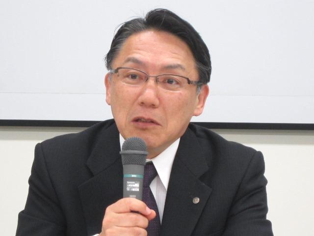 9月25日の定例記者会見に臨んだ、日本病院団体協議会の神野正博副議長