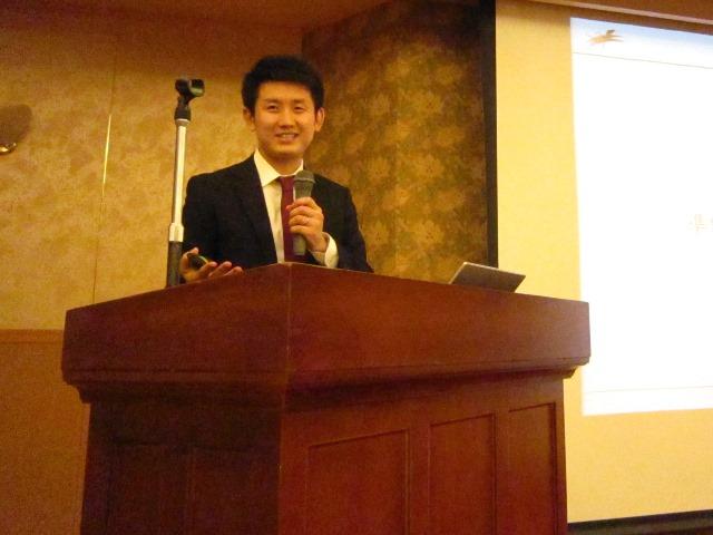 10月3日のGHC改定セミナー(高知)に登壇した、GHCマネジャーの湯浅大介