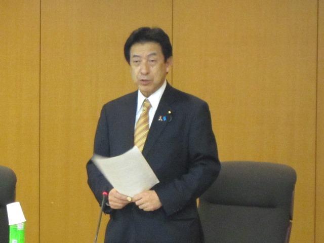 大学附属病院等の医療安全確保に関するタスクフォースに出席した塩崎恭久厚生労働大臣