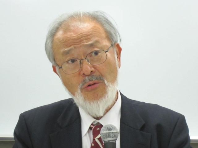 1月7日に記者会見に臨んだ、全国自治体病院協議会の邉見公雄会長