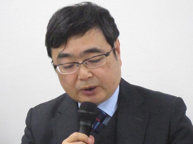 外保連の土田敬明・検査委員長(国立がんセンター中央病院内視鏡部医長)
