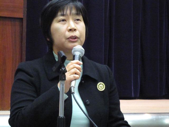 厚労省保険局総務課の渡辺由美子課長