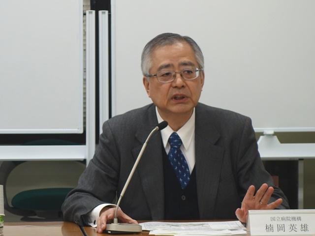 2月26日に記者会見に臨んだ、日本病院団体協議会の楠岡英雄議長