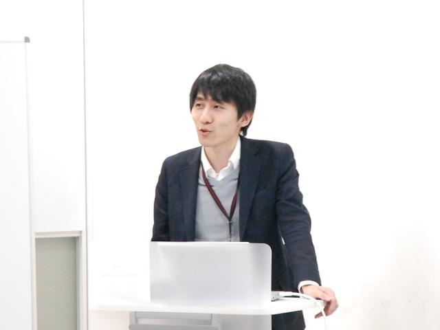 GHCで病院ダッシュボードの営業を担当する田中慶太
