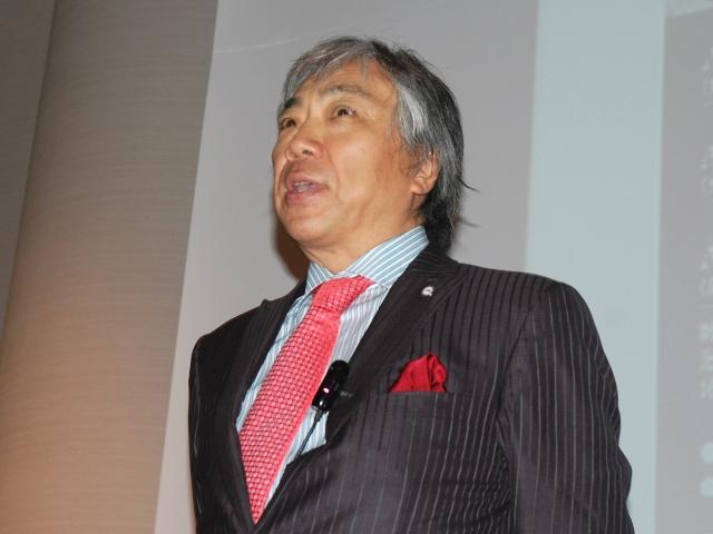 GHC会長で、米国グローバルヘルス財団理事長のアキよしかわ