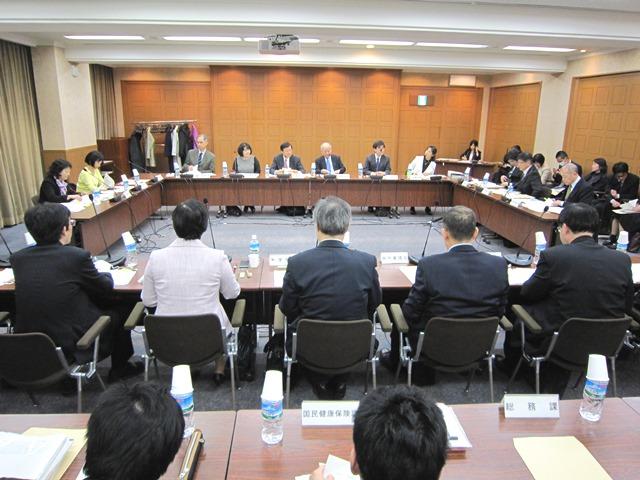 3月22日に開催された、「第5回 子どもの医療制度の在り方等に関する検討会」