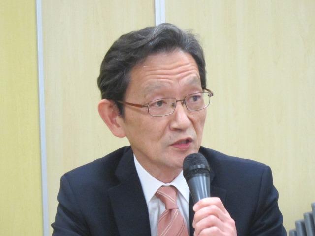外保連の山田芳嗣・麻酔委員長(東京大学大学院医学系研究科教授)