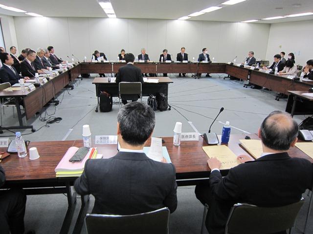 3月30日に開催された、「第14回 診療報酬調査専門組織 医療機関等における消費税負担に関する分科会」