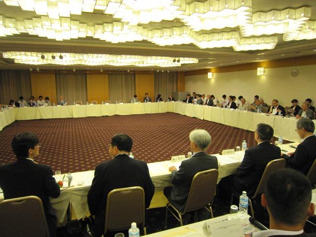 6月1日に開催された、「第1回 社会保障審議会 療養病床の在り方等に関する特別部会」