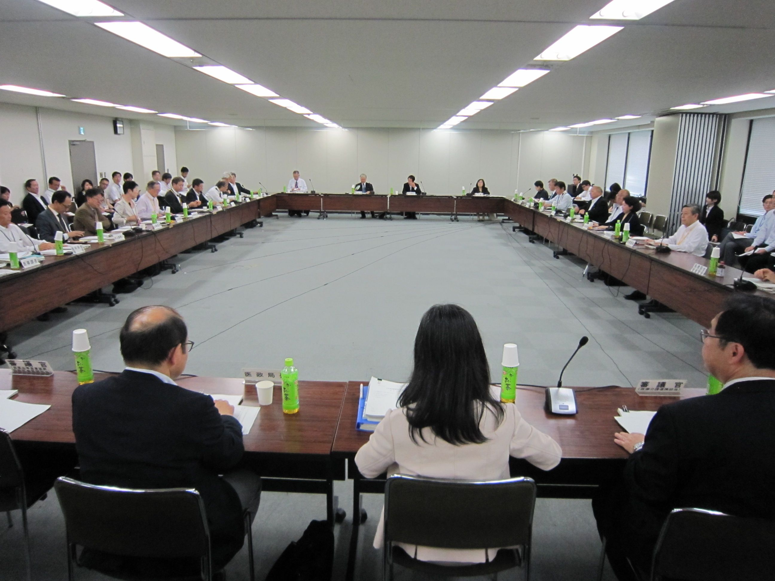 6月9日に開催された、「第46回 社会保障審議会 医療部会」