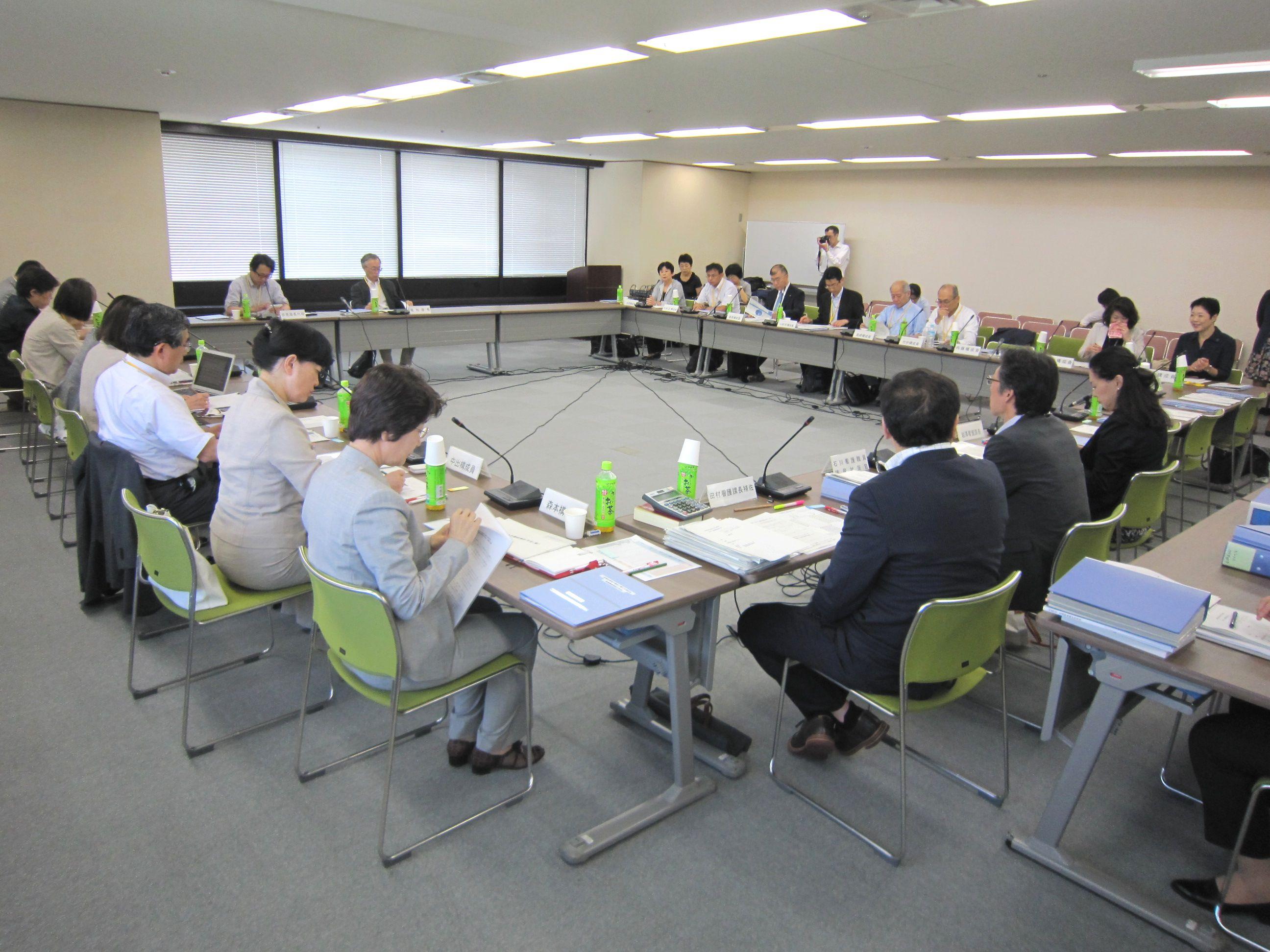 6月10日に開催された、「第2回 医療従事者の需給に関する検討会 看護職員需給分科会」