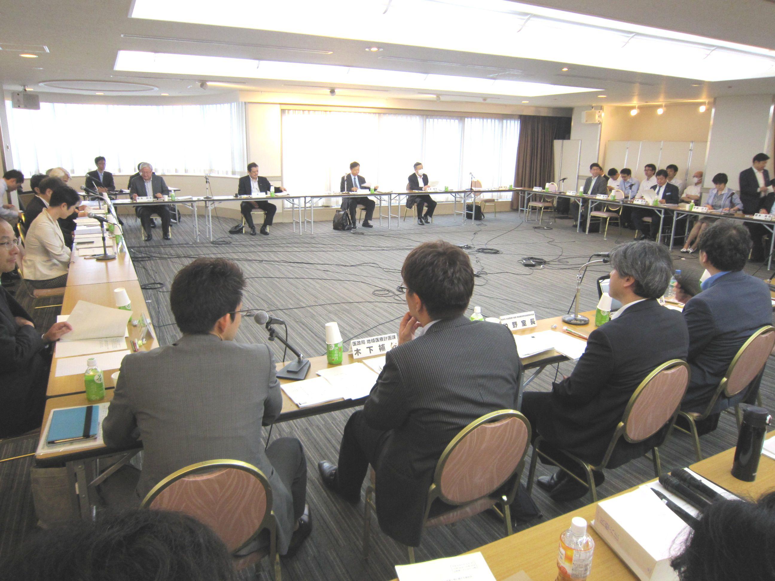 6月15日に開催された、「第2回 医療計画の見直し等に関する検討会」