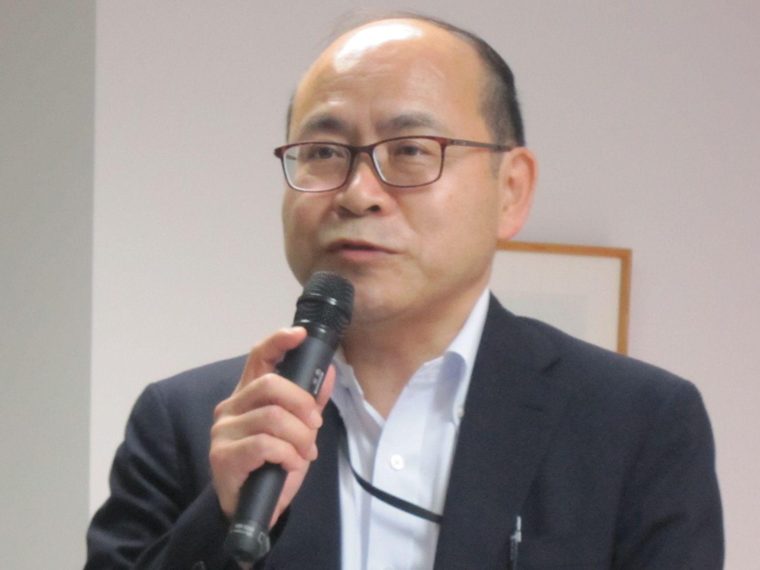6月30日に開かれた日本慢性期医療協会の通常総会後に講演した、厚生労働省医政局の神田裕二局長