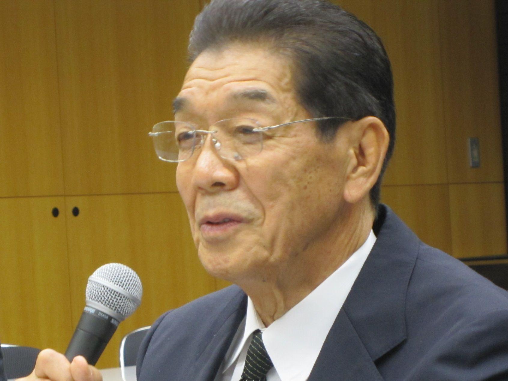 7月4日の理事会終了後、初の記者会見を行った日本専門医機構の吉村博邦新理事長(地域医療振興協会顧問、北里大学名誉教授)
