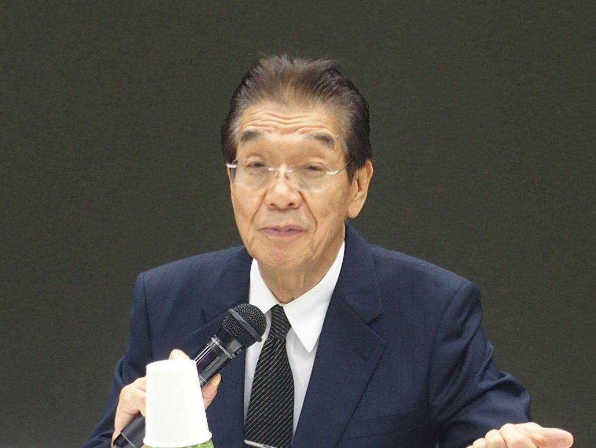 8月5日の理事会終了後に記者会見に臨んだ、日本専門医機構の吉村博邦新理事長(地域医療振興協会顧問、北里大学名誉教授)