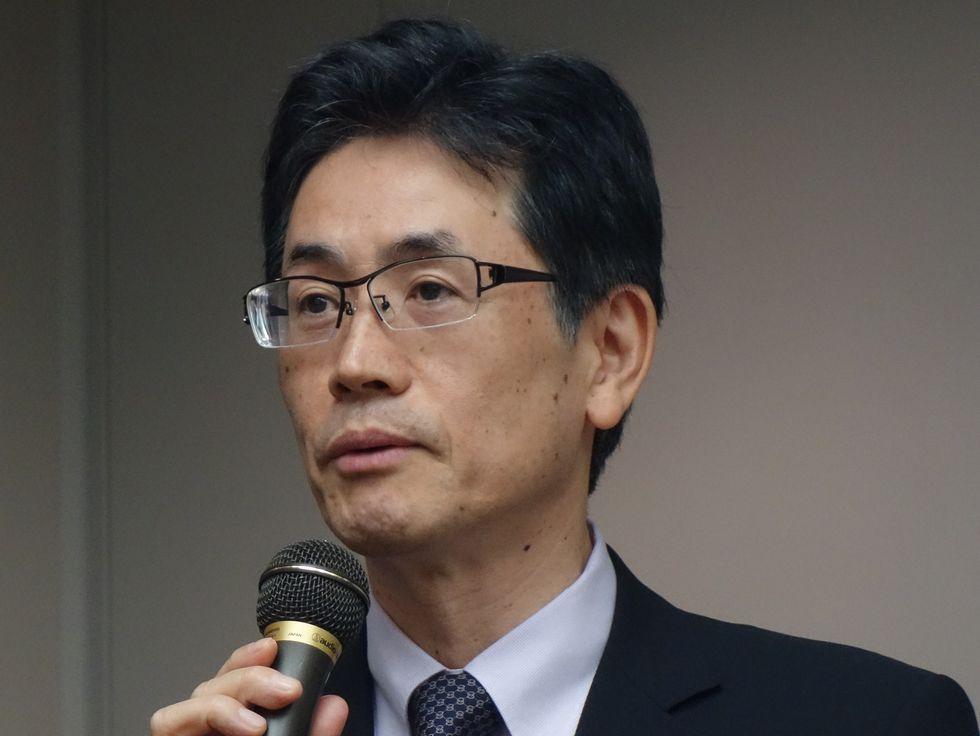 CQI研究会の世話に人でもある、九州がんセンターの藤也寸志院長