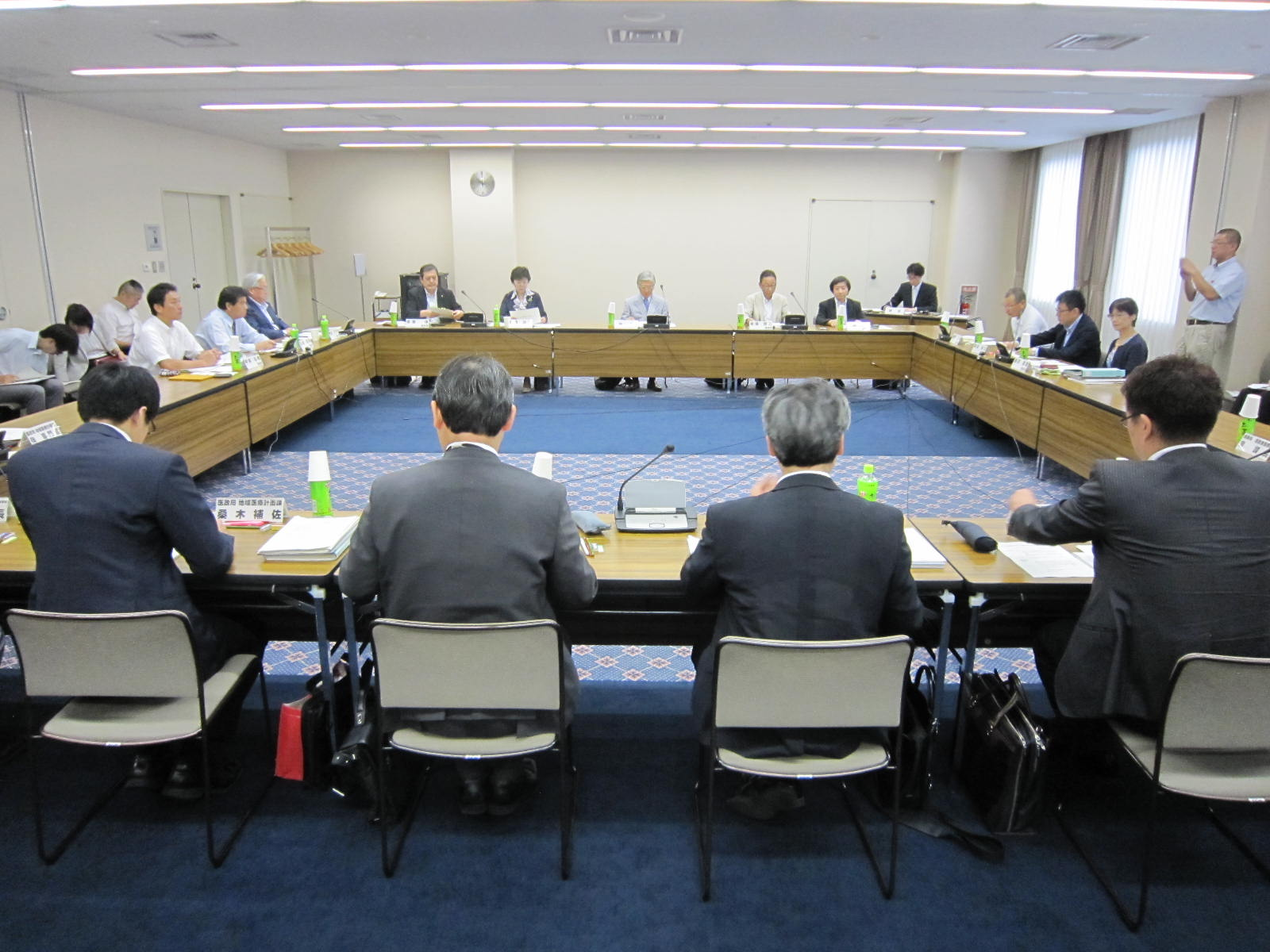 8月3日に開催された、「第1回 在宅医療及び医療・介護連携に関するワーキンググループ」(医療計画の見直し等に関する検討会の下部組織)