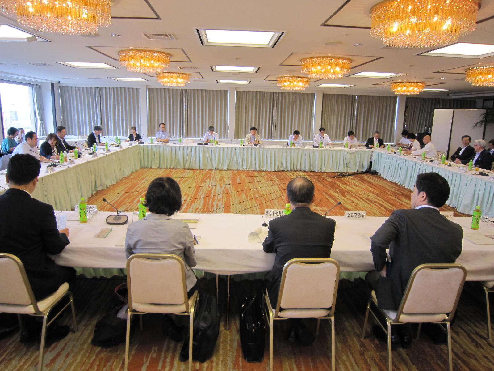 8月19日に開催された、「第61回 社会保障審議会 介護保険部会」