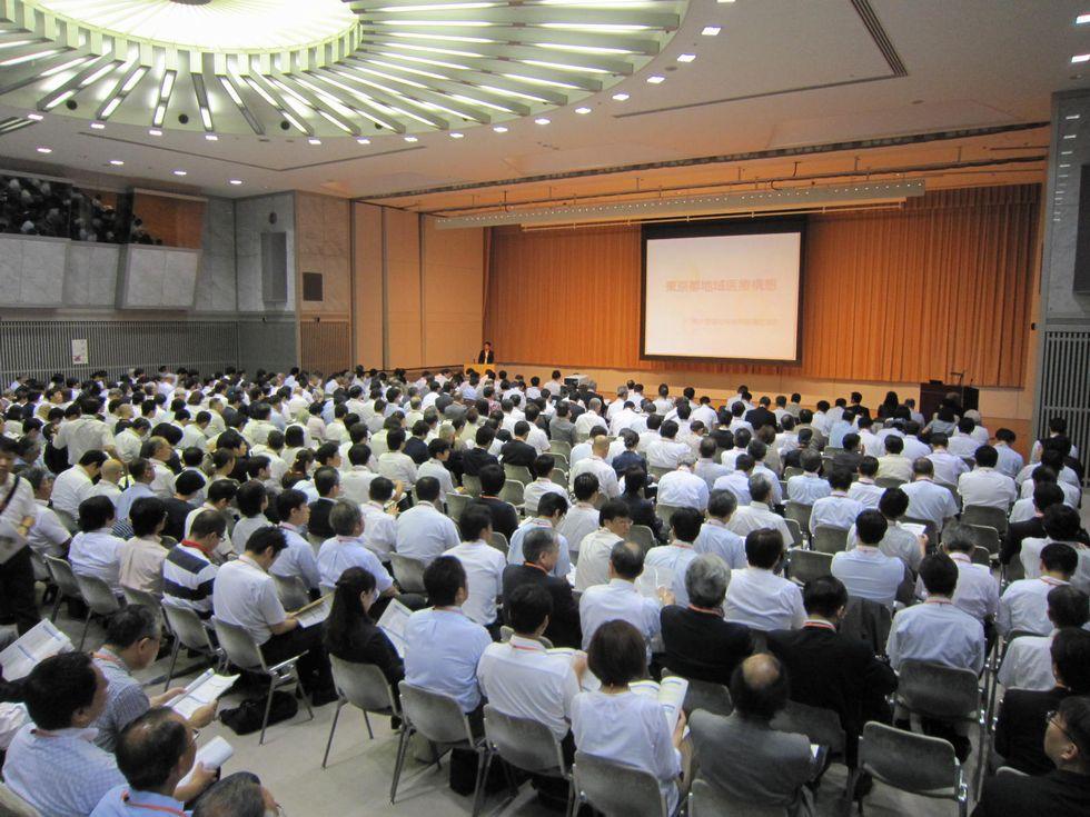 8月29日に東京都が開催した、地域医療構想説明会