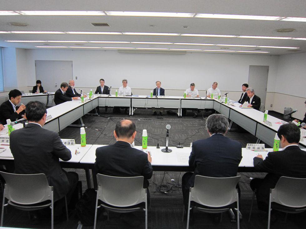 8月31日に開催された、「第2回  地域医療構想に関するワーキンググループ」