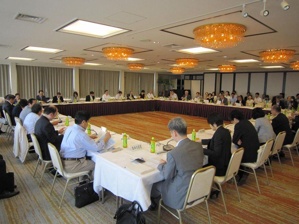 9月7日に開催された、「第63回 社会保障審議会 介護保険部会」