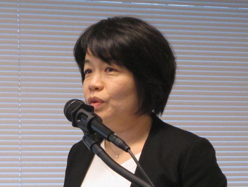 自院の看護必要度対策について発表していただいた日産厚生会玉川病院の高橋由美子副看護部長