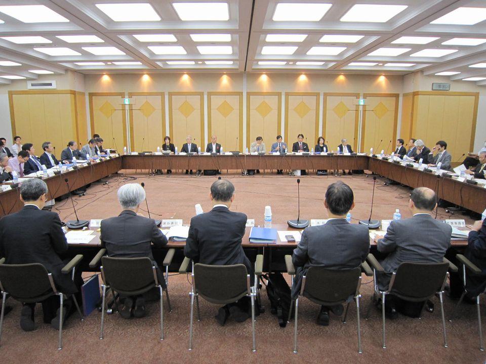 10月26日に開催された、「第4回 社会保障審議会 療養病床の在り方等に関する特別部会」