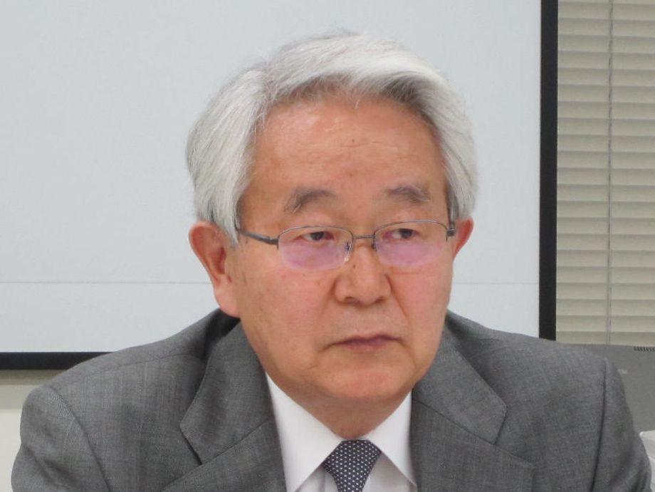 10月26日の四病院団体協議会・総合部会終了後に、記者会見に臨んだ日本病院会の堺常雄会長