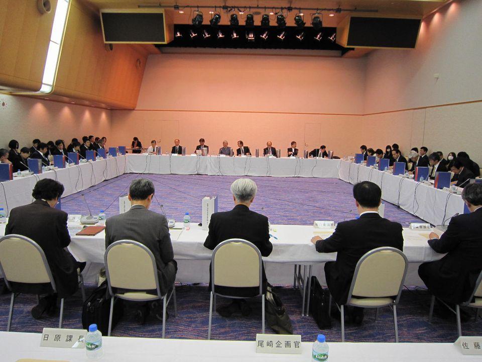 11月14日に開催された、「第9回 医療介護総合確保促進会議」