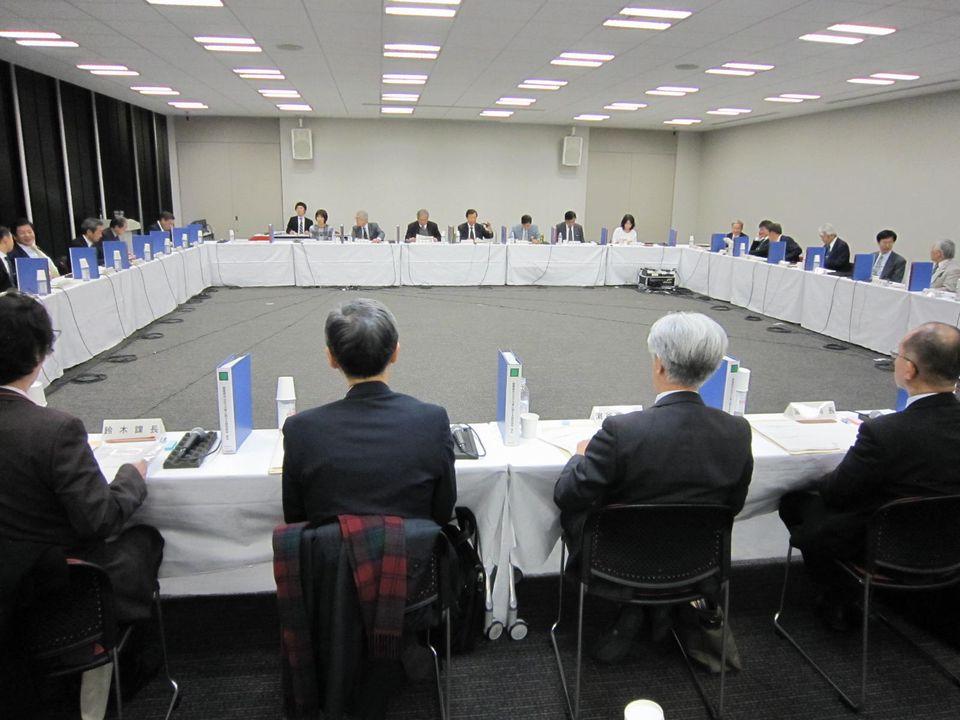 12月7日に開催された、「第7回 療養病床の在り方等に関する特別部会」