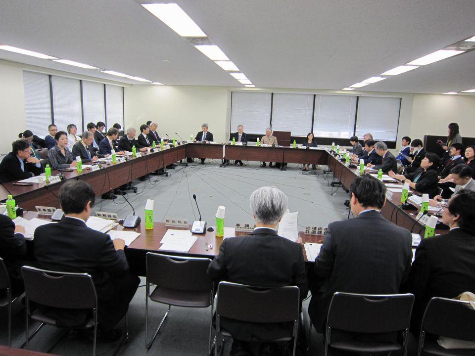 12月8日に開催された、「第49回 社会保障審議会 医療部会」