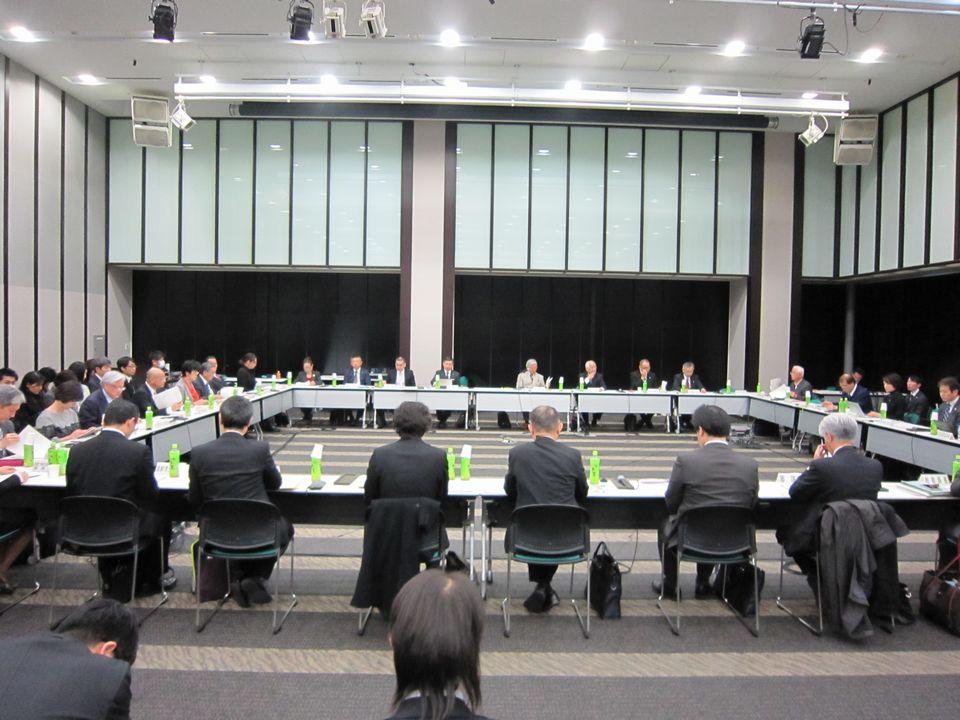 12月28日に開催された、「第134回 社会保障審議会 介護給付費分科会」