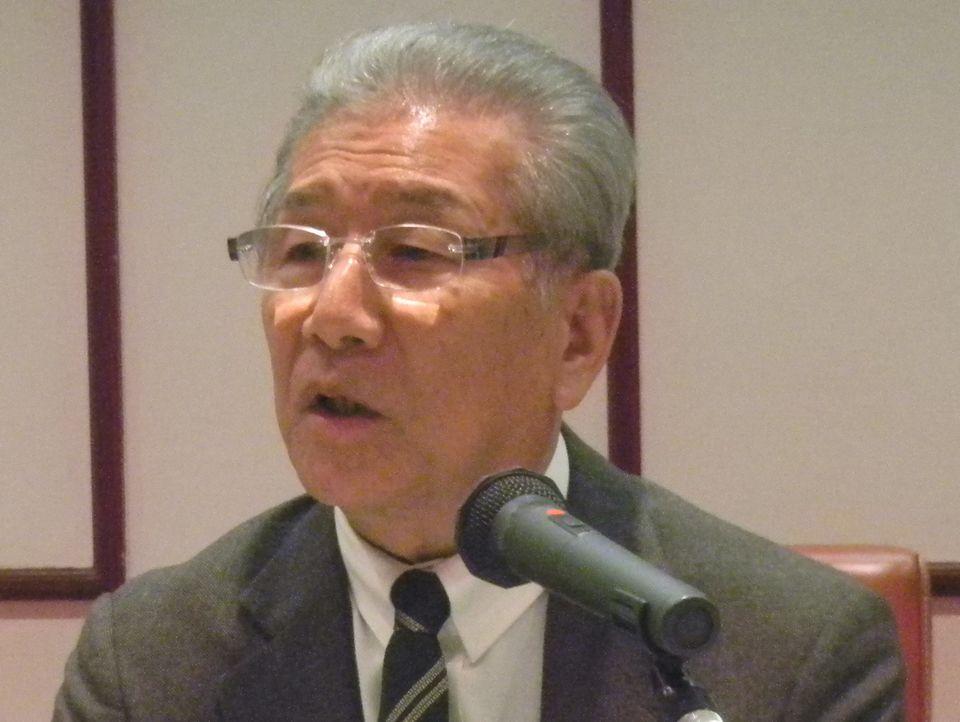 1月12日に2017年初の記者会見に臨んだ、日本慢性期医療協会の武久洋三会長