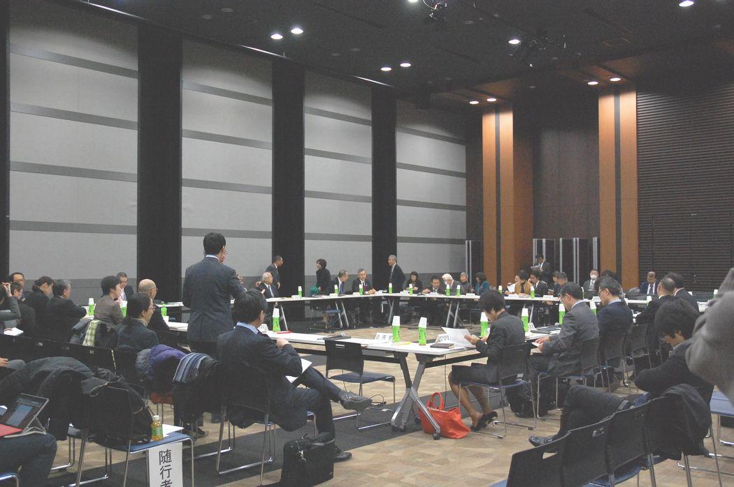 1月18日に開催された、「第135回 社会保障審議会 介護給付費分科会」