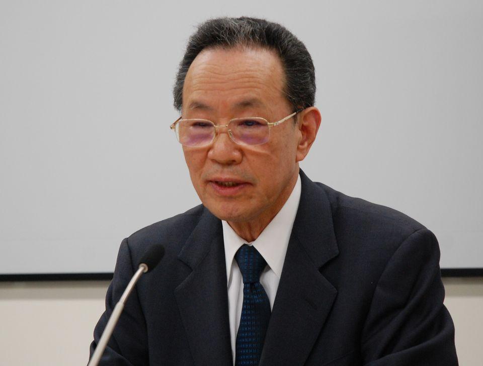 1月27日の日本病院団体協議会・代表者会議後に記者会見に臨んだ、原澤茂副議長