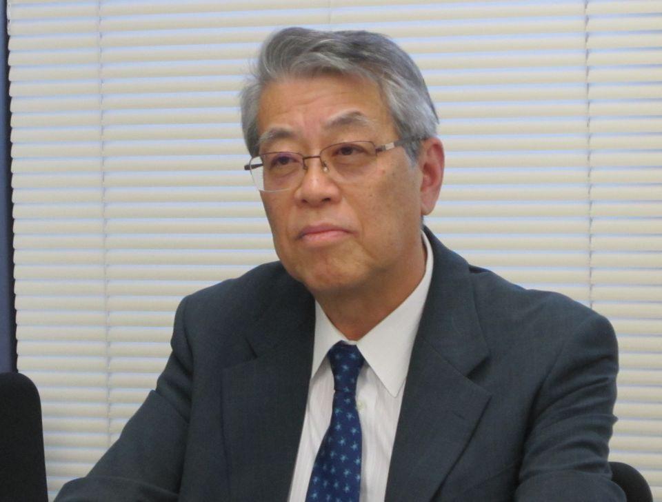 1月16日の日本病院会定例会見で、災害医療に関する提言を報告した日病災害医療対策委員会の有賀徹委員長