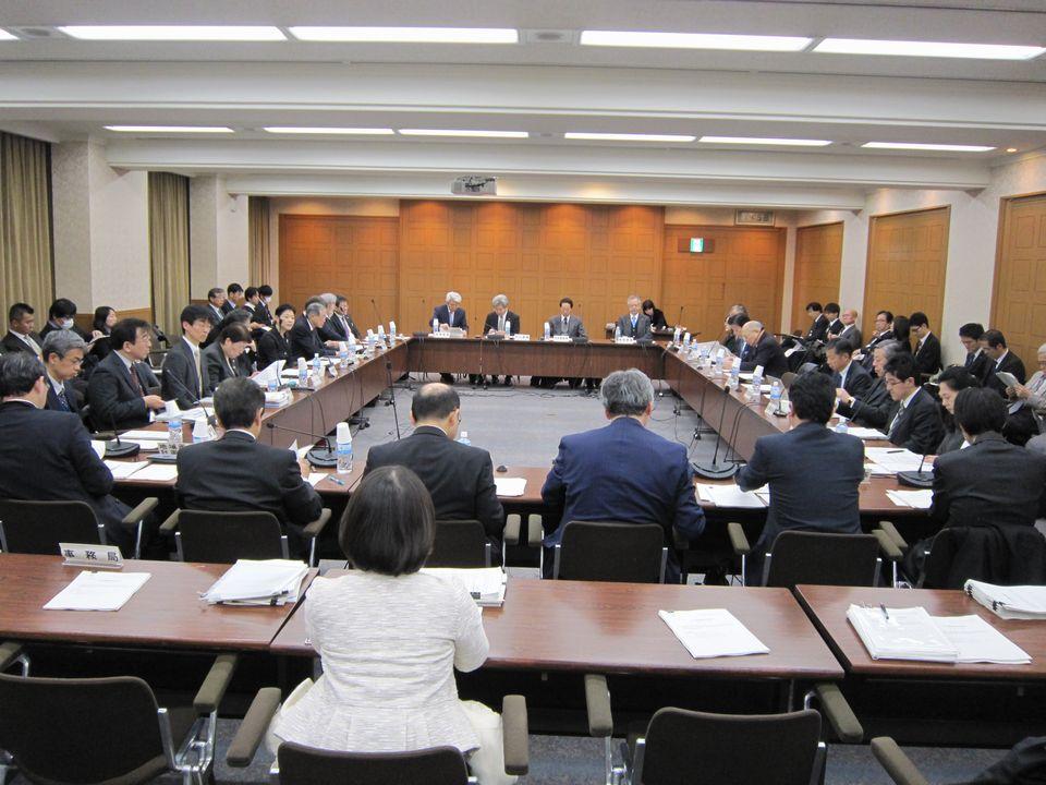 1月18日に開催された、「第50回 社会保障審議会 医療部会」