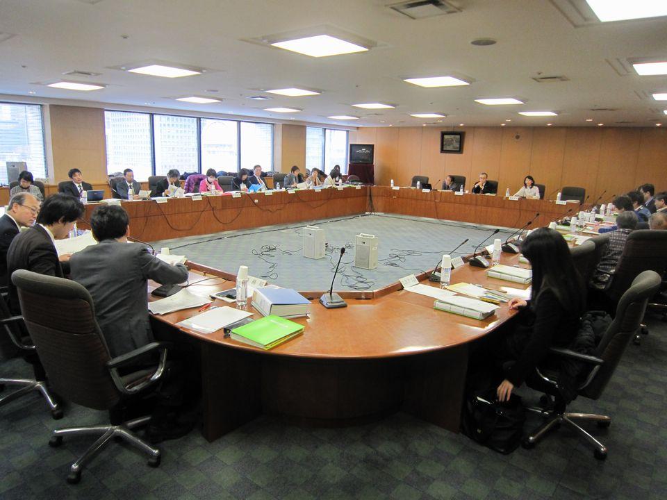 1月19日に開催された、「第64回 がん対策推進協議会」