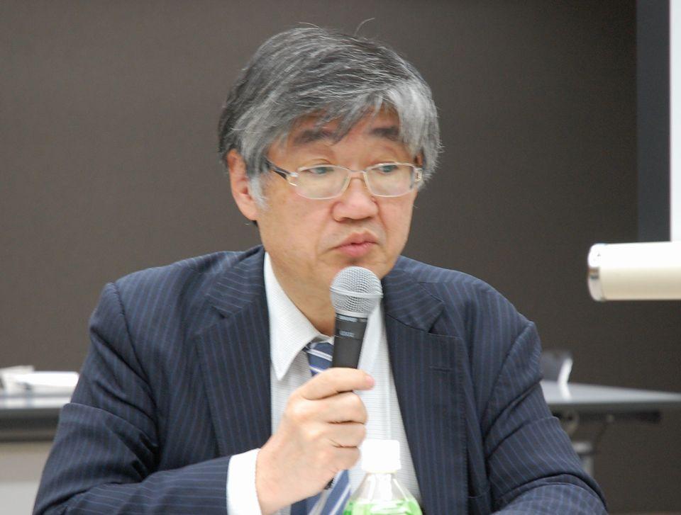 運用細則について説明する日本専門医機構の山下英俊副理事長(山形大学医学部長)