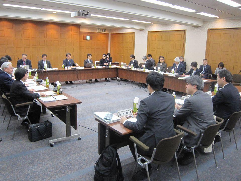 3月1日に開催された、「第3回 全国在宅医療会議ワーキンググループ」