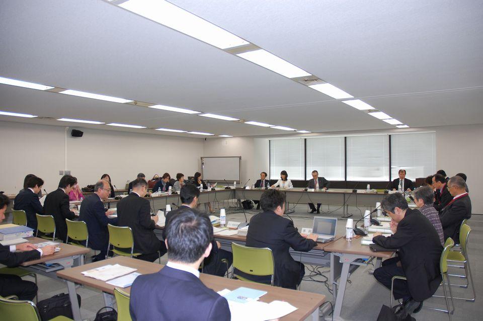 4月13日に開催された、「第66回 がん対策推進協議会」