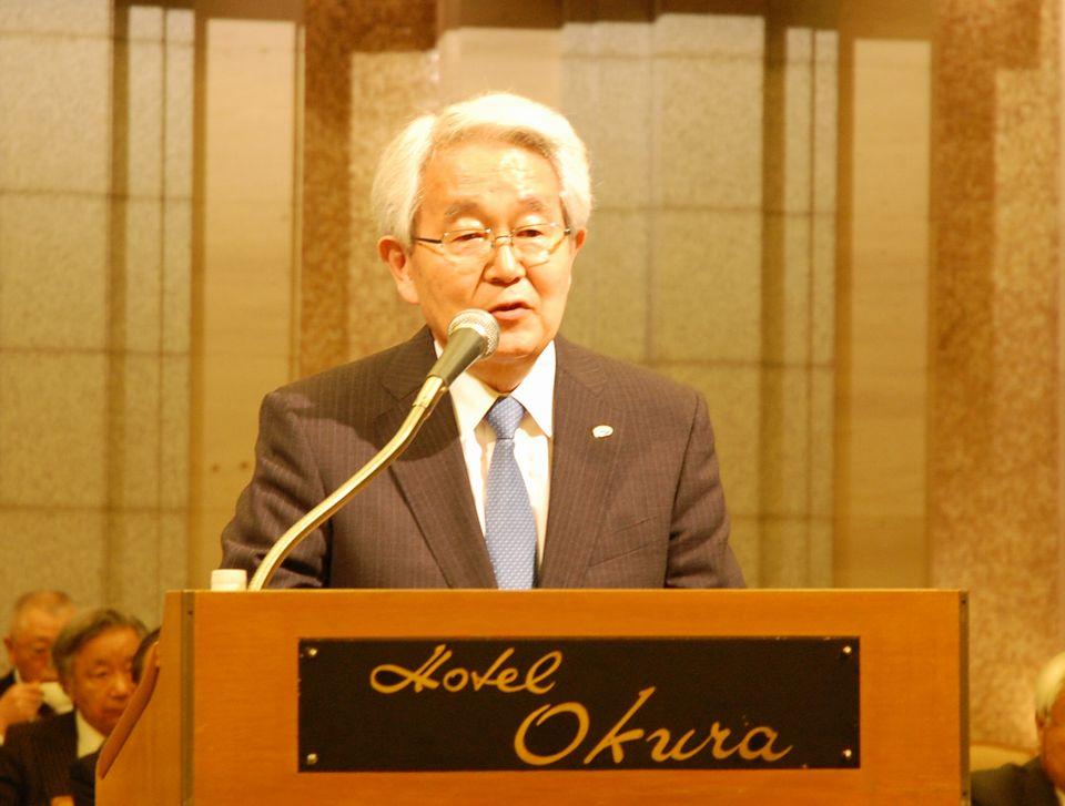 日本病院会の堺常雄前会長は、名誉会長に就任した