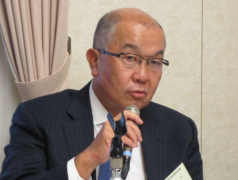 5月26日に緊急記者会見を行った、全国医学部長病院長会議の新井一会長(順天堂大学学長)